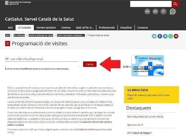 cita previa para médico en cataluña